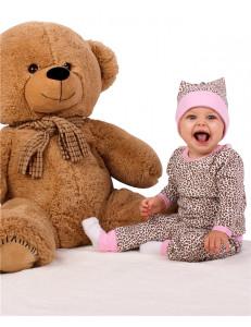 """Комплект для малышей (блуза и рейтузы) """"Леопард"""""""